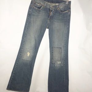 Lucky Brand Dungarees sweet-n-low boot jeans